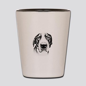 SWISS MOUNTAIN DOG - Shot Glass